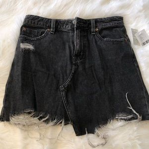 Distressed Urban Outfitters Denim Skirt